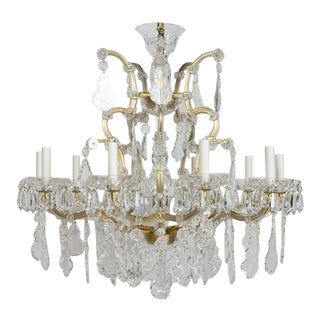 Preciosa Maria Theresa Chandelier - Showroom Sample For Sale