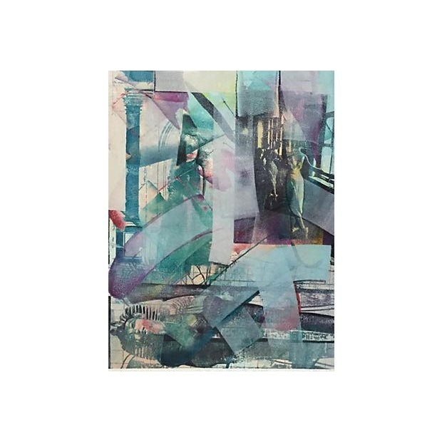 Richard Hall Modernist Abstract Painting - Image 4 of 6