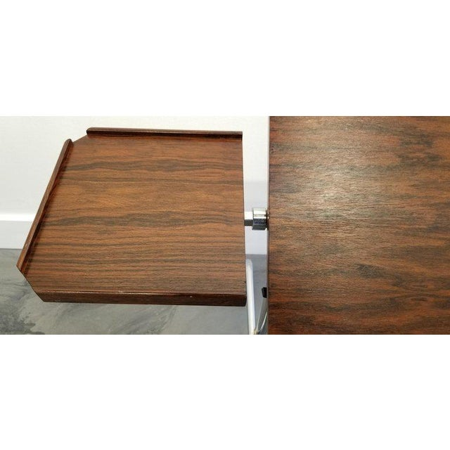 Danecastle Aps Rosewood Adjustable Bedside Desk or Table For Sale - Image 11 of 13