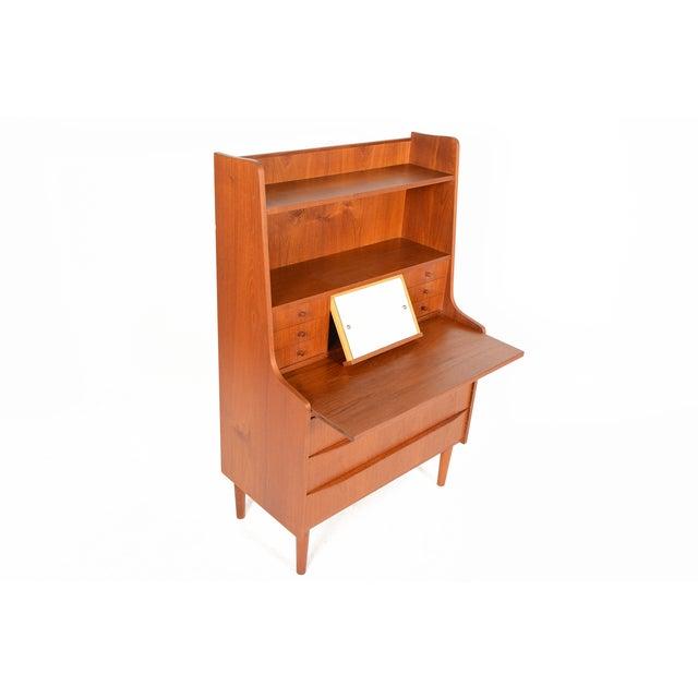 Danish Modern Secretary Bookcase - Image 5 of 10