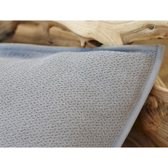"Coyuchi Honeycomb Euro Shams (Set of 2) 26""x26"" Insert not included Color: Mid - Gray Not available in other colors A..."
