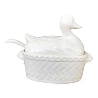 1950s Vintage Duck Soup Tureen For Sale
