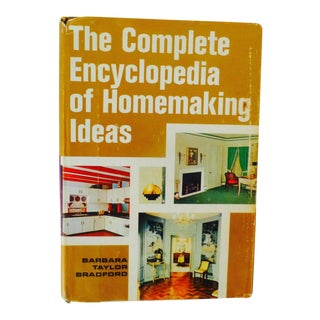 "Barbara Taylor Bradford ""Complete Encyclopedia of Homemaking Ideas"" Book"