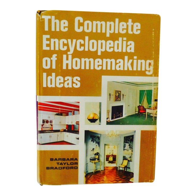 "Barbara Taylor Bradford ""Complete Encyclopedia of Homemaking Ideas"" Book For Sale"