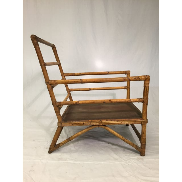 1930s Hollywood Regency Rattan Chairs - A Pair - Image 4 of 7