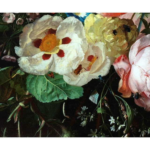 Rachel Ruysch Still Life With Flowers 1716 Unframed Giclée Print For Sale In Los Angeles - Image 6 of 6