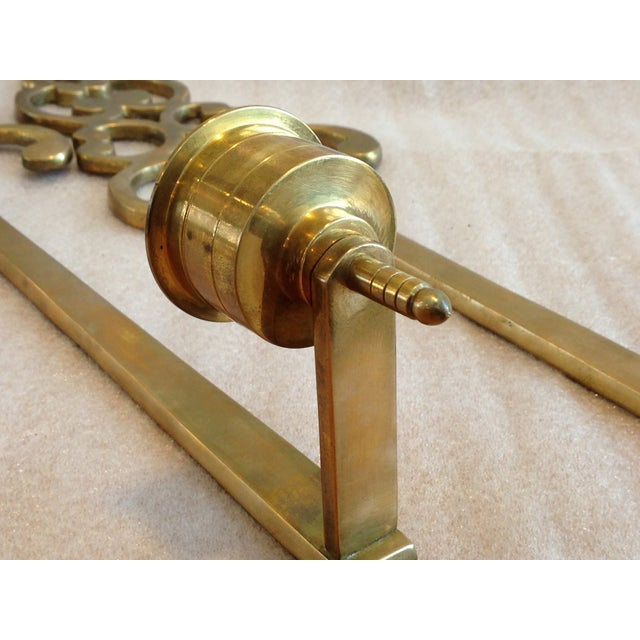 Brass Wall Candle Holder Sconces - Pair - Image 7 of 7