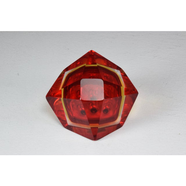 Italian Midcentury Murano Bowl by Flavio Poli, 1950s For Sale - Image 11 of 12