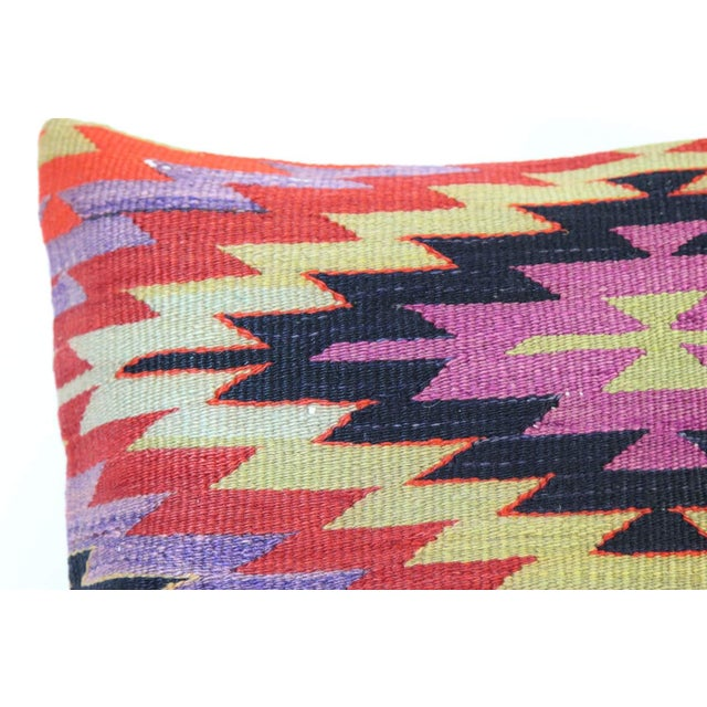 Kilim Pillow Covers - A Pair - Image 4 of 5