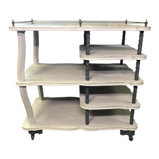 20th Century Cottage Style Bar Cart For Sale