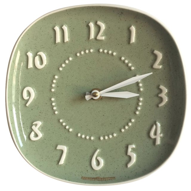 Russell Wright for GE Ceramic Clock - Image 1 of 7