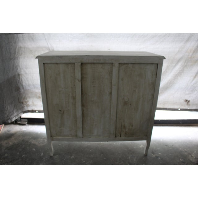 20th Century French Gray Oak Cabinet For Sale - Image 4 of 9