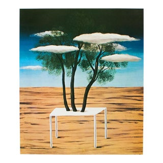 """1972 Rene Magritte, """"The Oasis"""" Original Photogravure For Sale"""