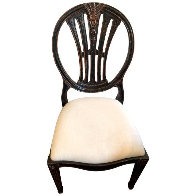 Jonathan Charles Hepplewhite Wheatsheaf Side Chair - Image 1 of 5