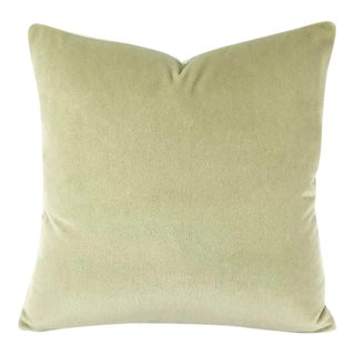 Mohair Velvet Honeydew Pillow Cover For Sale