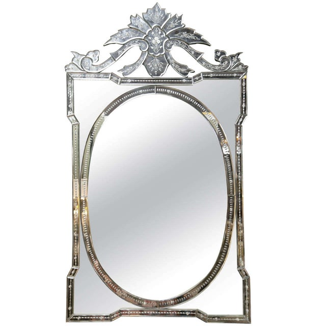 Venetian Decorative Mirror - Image 1 of 5