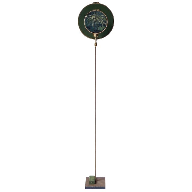 Circle Blue Grey, Floor Lamp by Sander Bottinga For Sale