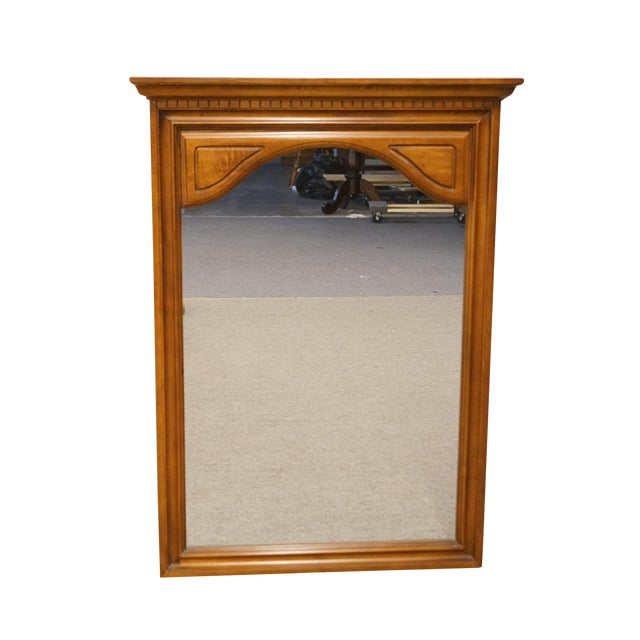 Late 20th Century Sumter Cabinet Italian Neoclassical Inspired Wall Mirror For Sale