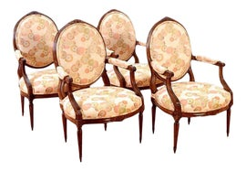 Image of Belgian Chair and Ottoman Sets