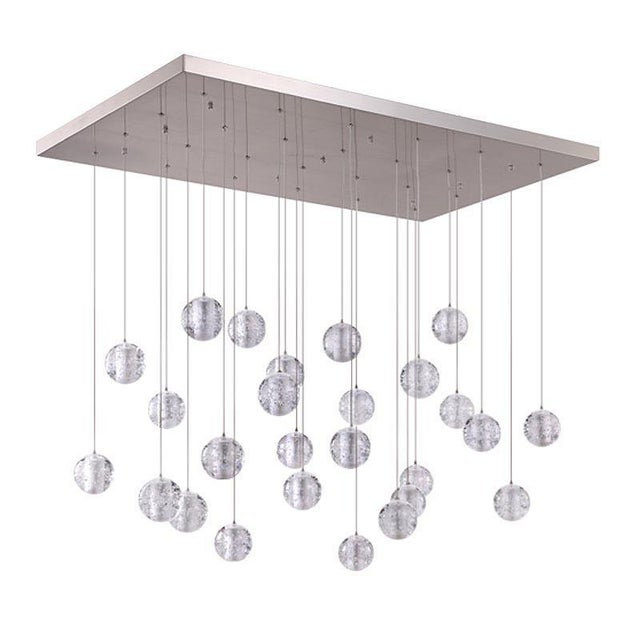 2010s Modern Meteor Shower Chandelier For Sale - Image 5 of 11
