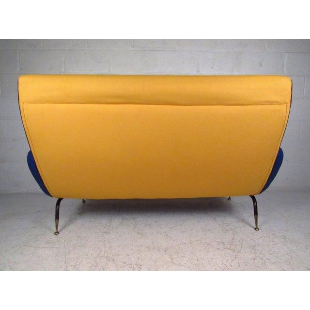 Italian Modern Zanuso-Style Sofa - Image 5 of 9