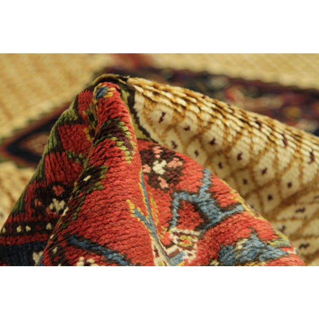 1920s 1920s Vintage Persian Malayer Design Rug - 3′5″ × 12′ For Sale - Image 5 of 10