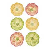 Image of Moda Domus x Chairish Exclusive Dinner Plates, in Green, Yellow, and Pink - Set of 6 For Sale