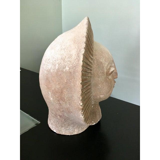 1960s Austin Productions Inc Sun God Face Statue.Paul Bellardo For Sale - Image 5 of 10