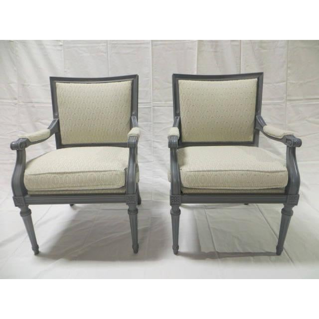 French Directoire Side Chairs - A Pair For Sale - Image 11 of 11