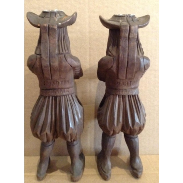 Antique J. Martin Rennes Candle and Matchstick Holders - A Pair For Sale - Image 4 of 10