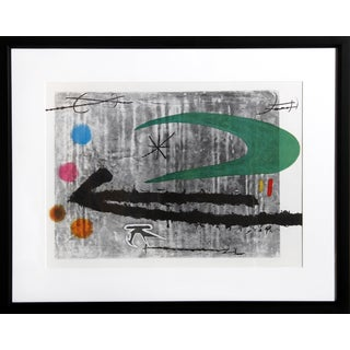 Vers La Gauche by Joan Miro Offset Lithograph For Sale
