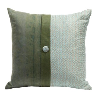 Fortuny Two Tone Pillow Tapa For Sale