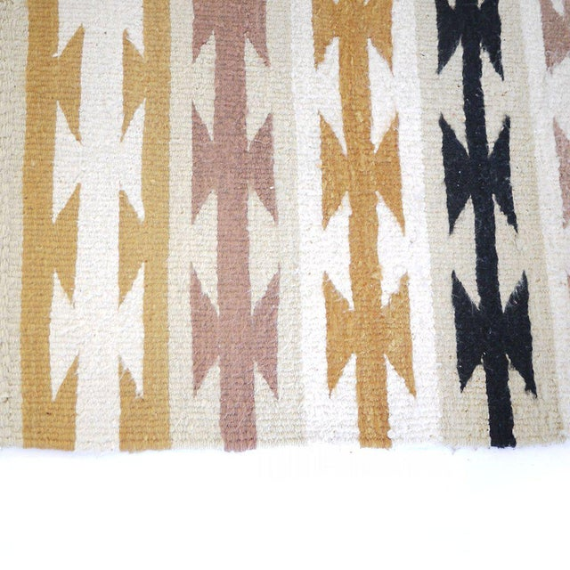 Boho Chic Vintage Navajo Style Rug - 2′6″ × 5′1″ For Sale - Image 3 of 4