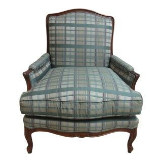 Henredon French Country Bergere Lounge Arm Chair