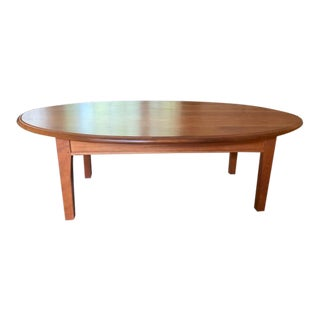 Traditional Charles Shackleton Solid Cherry Coffee Table For Sale