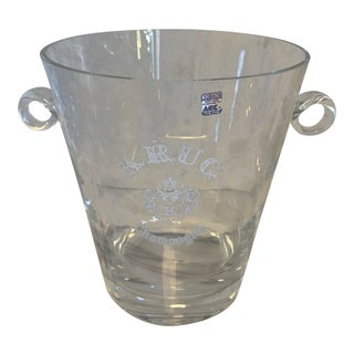 Crystal Champagne Bucket For Sale