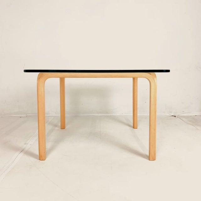 A pair of Classic Alvar Aalto Y805 design from 1946. These are from the 1970s. Four sections of birch steam bent to form...