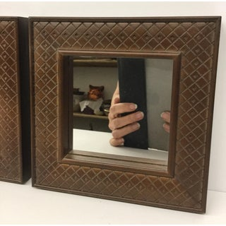 Thomasville Small Framed Mirrors - a Pair Preview