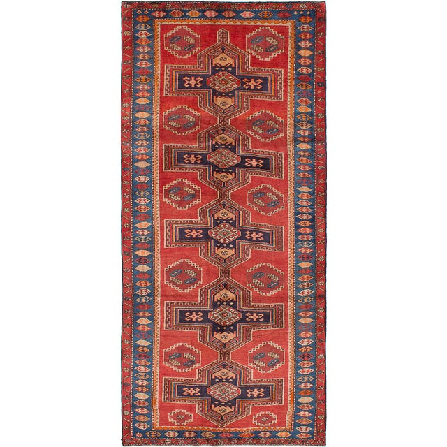 "Vintage Persian Rug - 4'10"" x 10'9"" - Image 1 of 2"