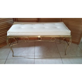 Mid Century Hollywood Regency Bench by George Koch and Sons Preview