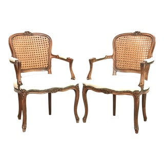1970s Vintage French Style Chairs - a Pair For Sale