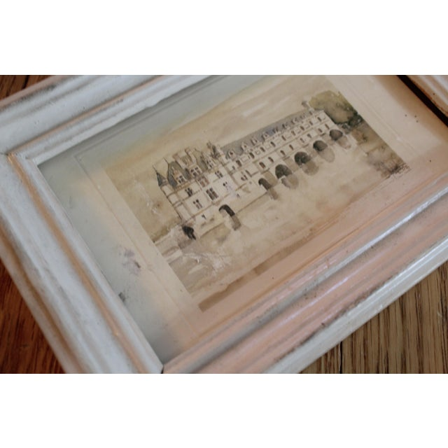 White Petitie Framed Art From Paris - Image 3 of 5