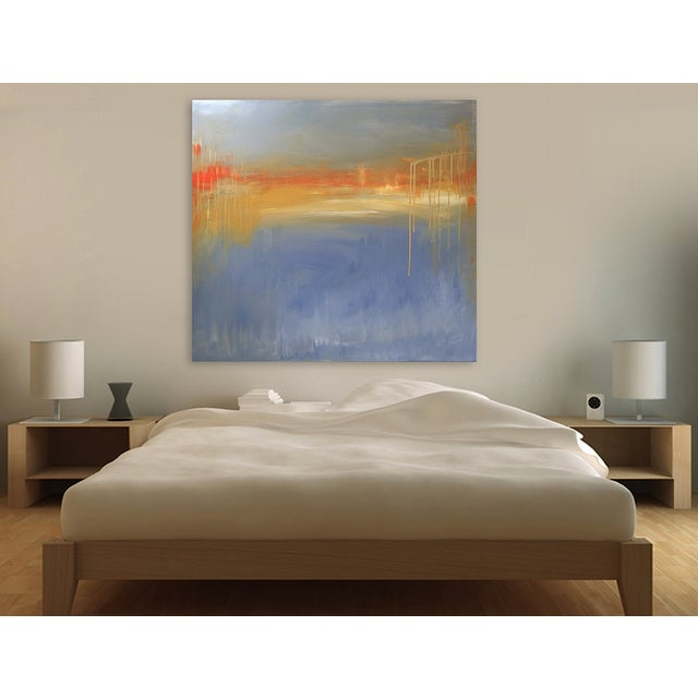 'FiRE iSLAND' Original Abstract Painting - Image 4 of 7