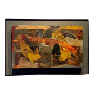 An Original Painting By American Artist Agnes Sims (1910 - 1990) For Sale