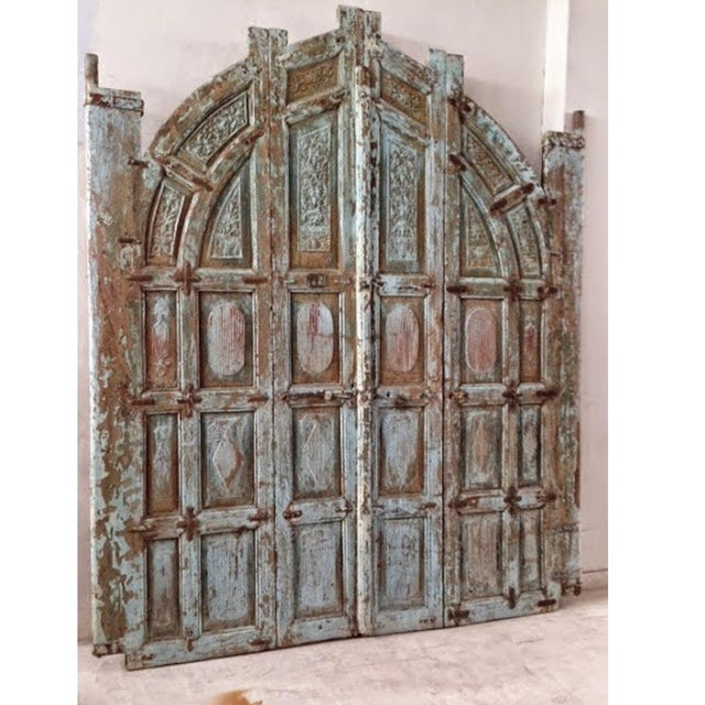 Old Jodhpur Carved Entrance Gate - Image 2 of 2
