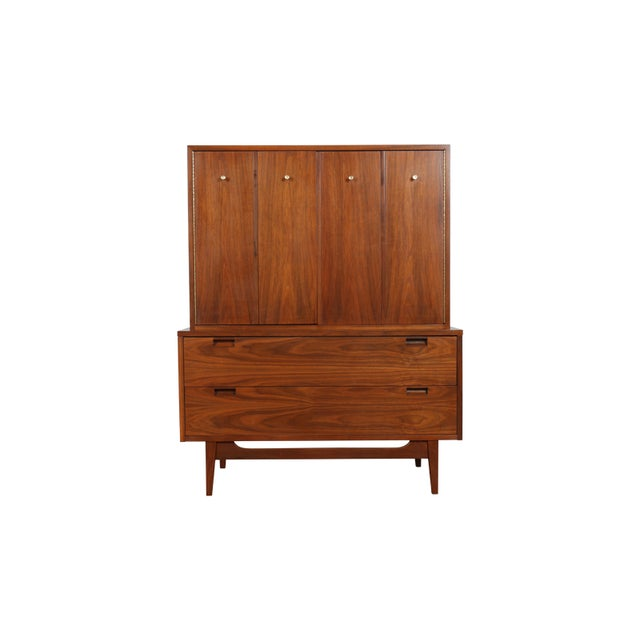 Highboy Dresser by American of Martinsville - Image 1 of 9