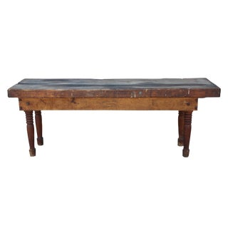 Antique Farm Table For Sale