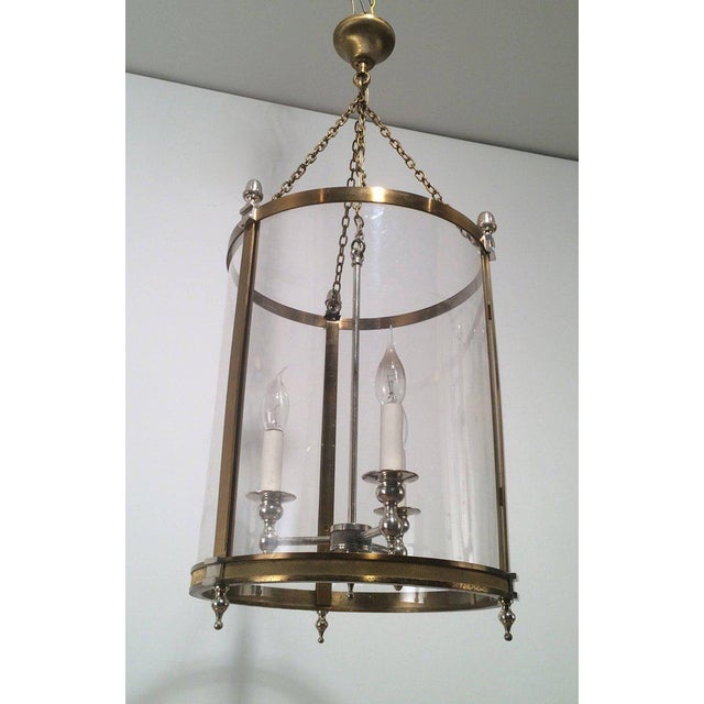 1970s French Neoclassical Style Hanging Lantern - Image 3 of 10
