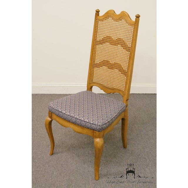 Thomasville Thomasville Furniture Chateau Collection Cane Back Dining Side Chair For Sale - Image 4 of 10
