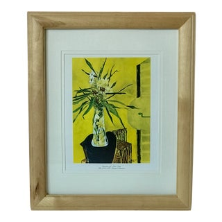 Vintage 'Daisies on a Box' Framed Art Print by Georges Braque For Sale